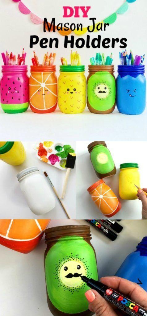 Rainbow Fruit Mason Jar Craft Color Made Happy Mason Jar Crafts Diy Mason Jar Diy Mason Jar Crafts