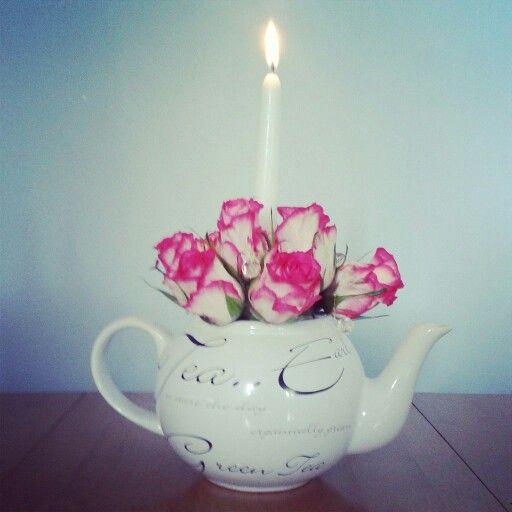 Diy candel display