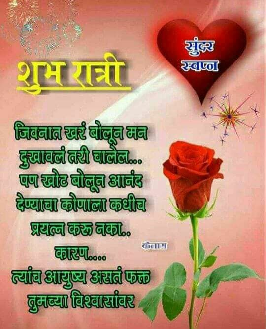 Pin By Neha On Alamb Flower Wallpaper Marathi Quotes Good Night