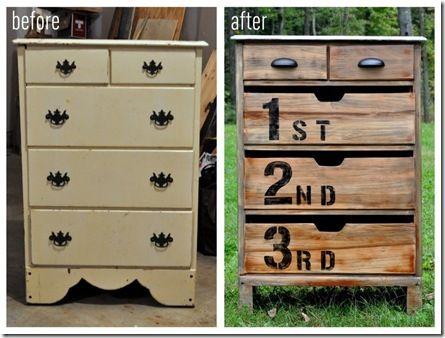 Anthro Inspired Dresser