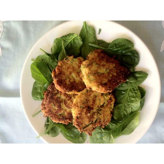 My attempt at the zucchini recipe in the April issue of BalanceOnline.