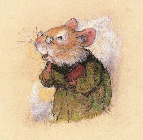 christopher denise - gradma mouse art
