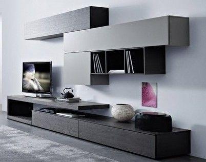 Rack muebles melamina fabrica de muebles escritorios for Muebles para tv contemporaneos