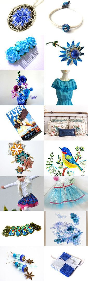 Collection of Beauty by wonderful Kanzashi on Etsy--Pinned with TreasuryPin.com