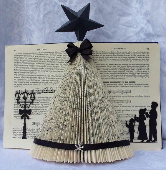 used Christmas Tree Folded Book Art in Surrey-GU15-Camberley ...