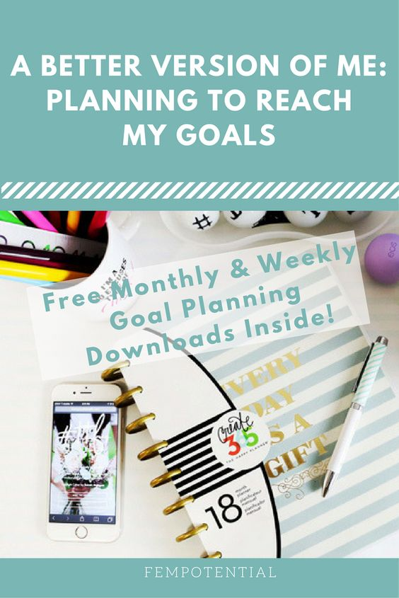 Determined to reach all of your goals in the new year? This woman was too so she came up with a system to figure out what she wanted to accomplish and she created some FREE monthly and weekly goals printable. Download yours today!