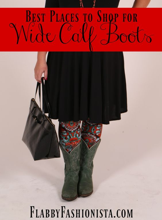 If you've always longed to wear boots but couldn't find any to fit, today is your lucky day! I'm sharing the best places to find wide calf boots!