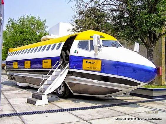 Uçak Görünümlü Karavan