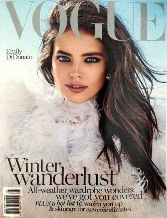 awesome Vogue Austrália Junho 2014 | Emily DiDonato por Benny Horne  [Capa]  OMG. this makeup!