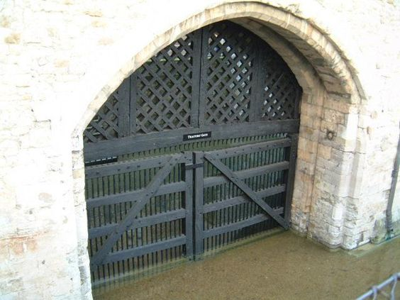 Traitor's gate. Been there. Not exactly a favorite... more the saddest place.