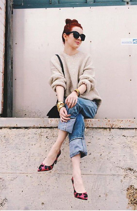 Inspiração: 20 jeitos de usar calça jeans   Estilo