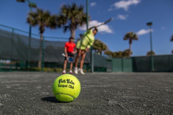 Tennis lessons at Ponte Vedra Inn & Club