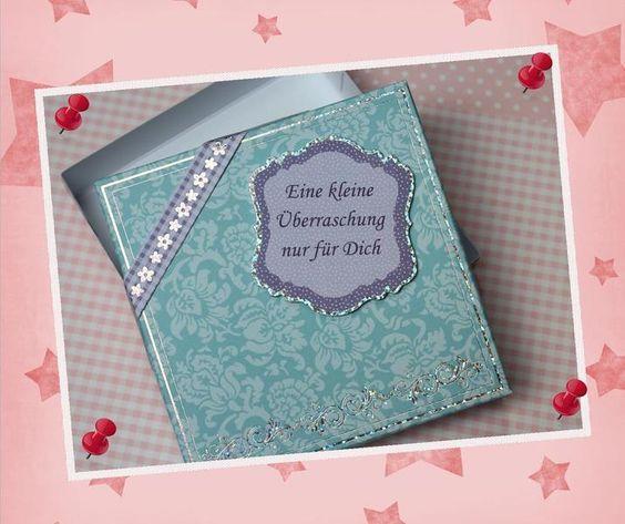"""Geschenke für Frauen - Geschenkverpackung """"Eine kleine Überraschung"""" - ein…"""