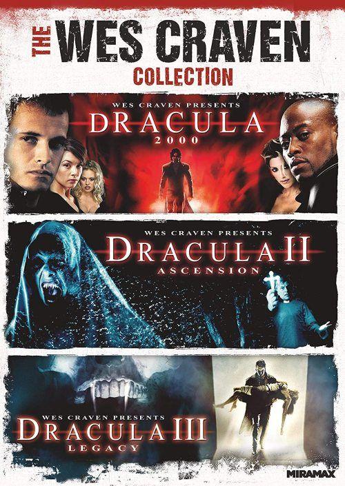 Horrornerdonline Horror Dracula Paramount Dracula 3 Wes Craven Omar Epps Wes Craven Movies