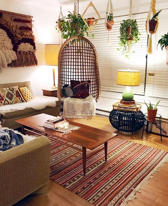 Magnifiques idées de décoration bohème chic | Décoration ...