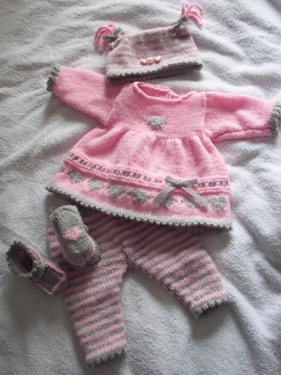 Handmade Knitting Patterns : Babies clothes, Baby girls and Patterns on Pinterest