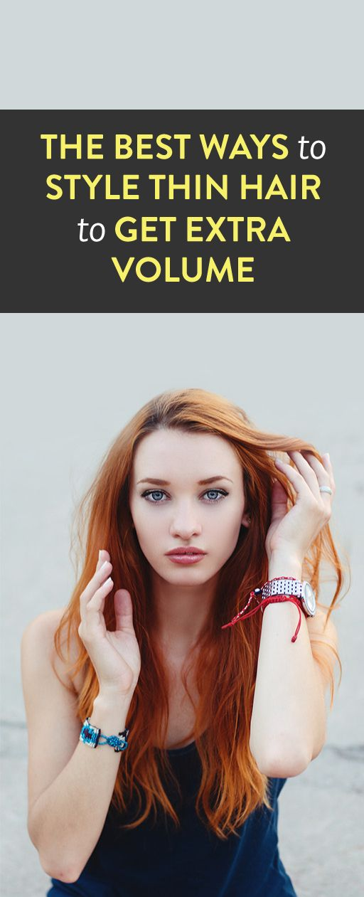 ways to style thin hair how to style thin hair amp give yourself volume 1334