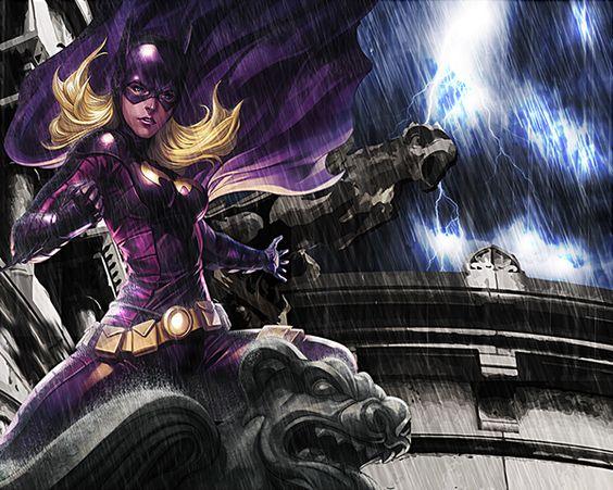 Batgirl: As the Nigh Falls on Behance