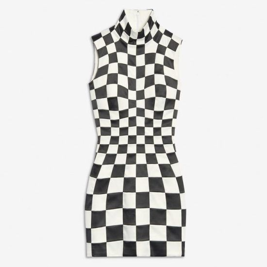 27+ Black and white checkered dress ideas in 2021
