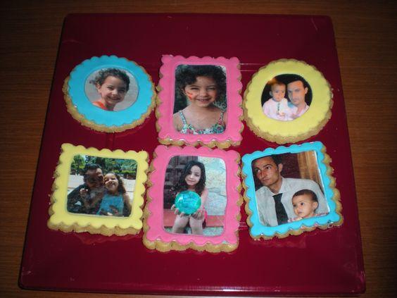 Galletas con foto comestible, para el Día del Padre!