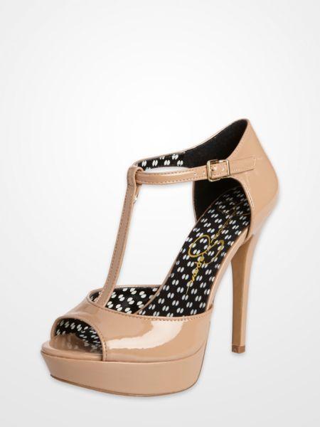 Jessica Simpson Bansi French T-Strap Platform Heels $29.99 #sale ...