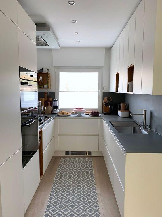 #small kitchen #kitchen #torten #dekoideen # Handle-free kitchen - #Remodel #RemodelBeforeAndAfter #RemodelPlans #RemodelReliable