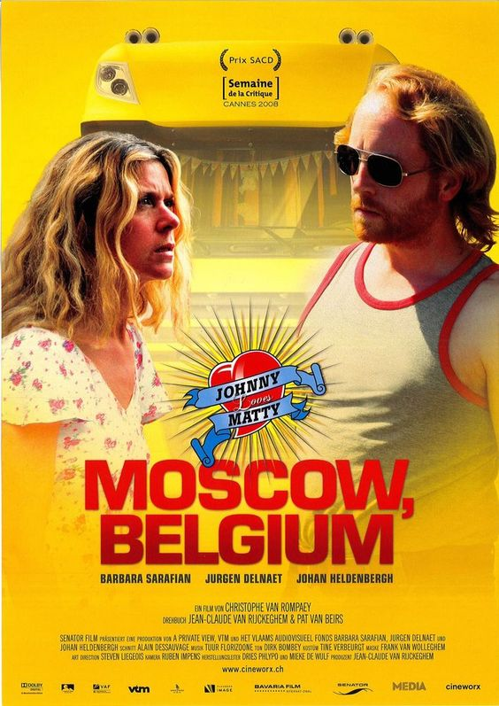 JOHNNY LOVES MATTY - MOSCOW, BELGIUM - 2008 - FILMPOSTER A4