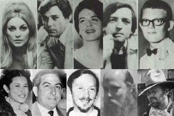 All of the Manson murder victims. RIP