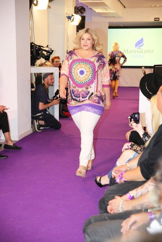 Plus size Model Caterina Pogorzelski Manou Lenz