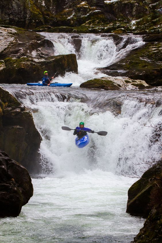 Whitewater Kayaking. I can't wait to learn