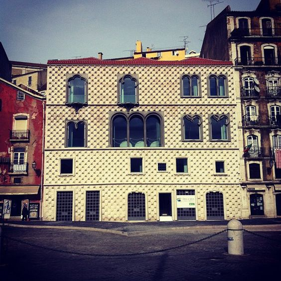 Museu Saramago At Casa Dos Bicos Architecture House Styles Mansions