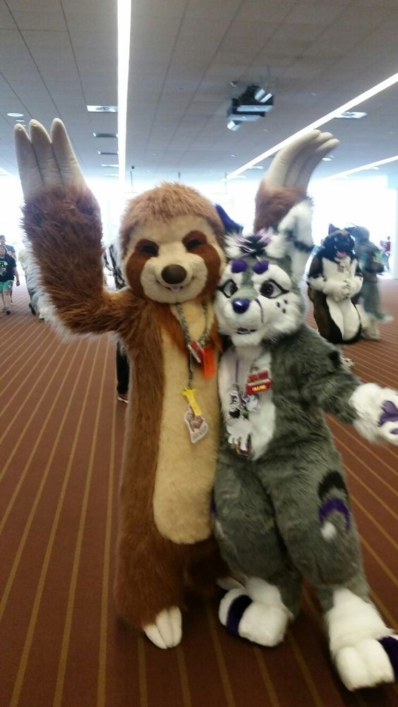 Danny Moon and friend  at AC   2016