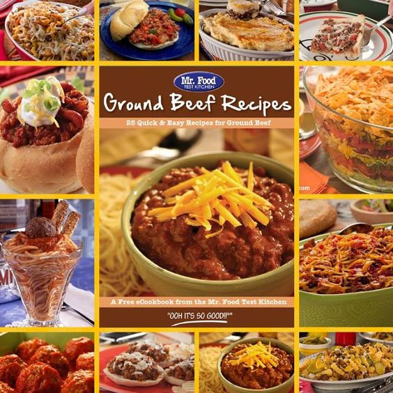 Ground Beef Recipes: 25 Quick & Easy Recipes For Ground