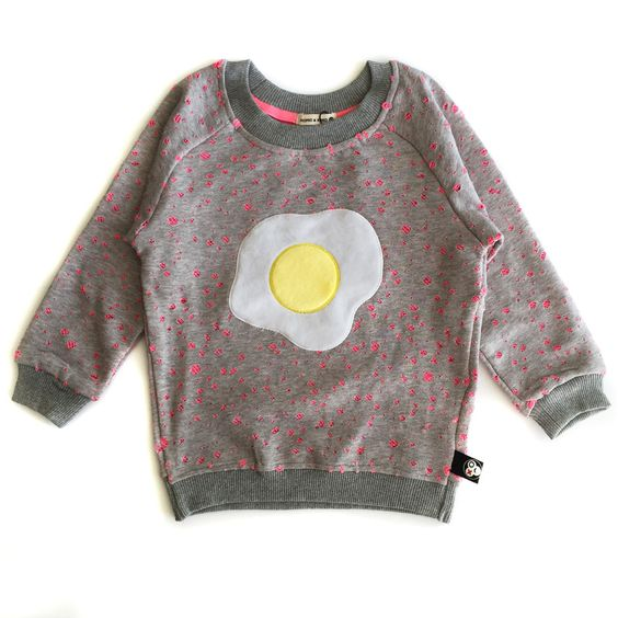 Sweet Egg Kids Sweater Pink/Green