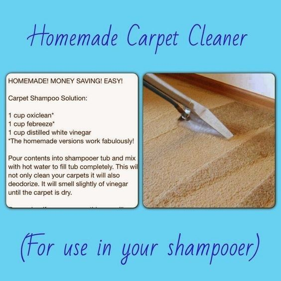 Homemade Carpet Cleaner For Shampooer With Oxiclean And Vinegar Carpet Cleaner Homemade Carpet Shampoo Solution How To Clean Carpet