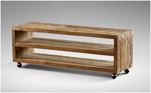 Typisch Beistelltisch Holz Mit Rollen In 2020 Tv Mobel Holz Beistelltisch Holz Tv Mobel