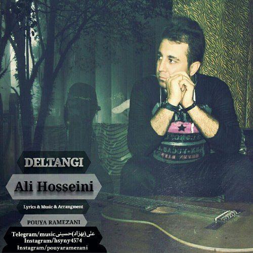 دانلود آهنگ جدید علی حسینی بنام دلتنگی