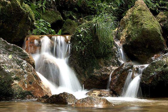 Del cristalino arroyo en el Parque Nacional La Tigra brota bendición divina convertida en agua para los capitalinos. (Foto: David Romero)