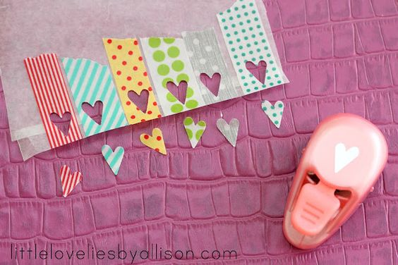 make your own stickers washi tape and wax paper - brilliant!: