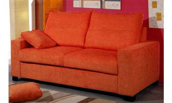 Sofá cama de dos plazas convertible en cama útil de 90cm. Venta Flash