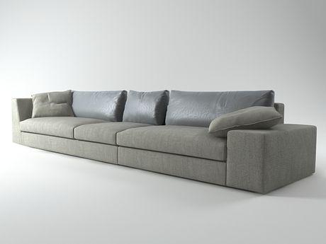 ligne roset exclusif sofa 02 3d model didier gomez. Black Bedroom Furniture Sets. Home Design Ideas