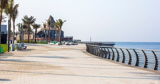 كورنيش جده 2020 Jeddah Sidewalk Structures