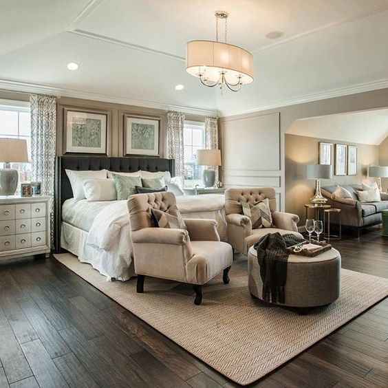 28 Fabulous Master Bedrooms With Sitting Area Large Master