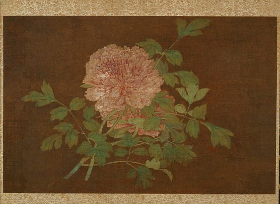 Peonies Medium: Ink and color on silk Type: Painting  Origin: China Topic: flower, peony, Ming dynasty (1368 - 1644), China  Credit Line: Gift of Charles Lang Freer Date: 15th century Period: Ming dynasty Accession Number: F1904.193 Data Source: Freer Gallery of Art and Arthur M. Sackler Gallery