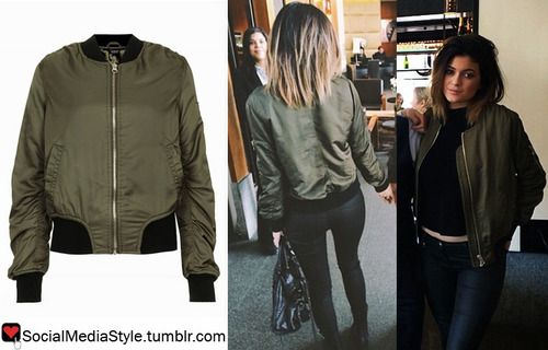 Buy Kylie Jenner's Keeping up with the Kardashians Green Bomber ...