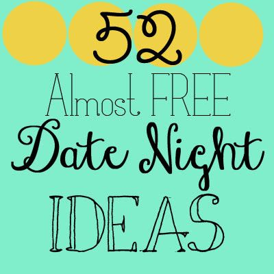 Simple date ideas