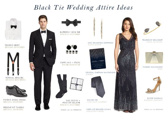 Wonderful Black Tie  Formal