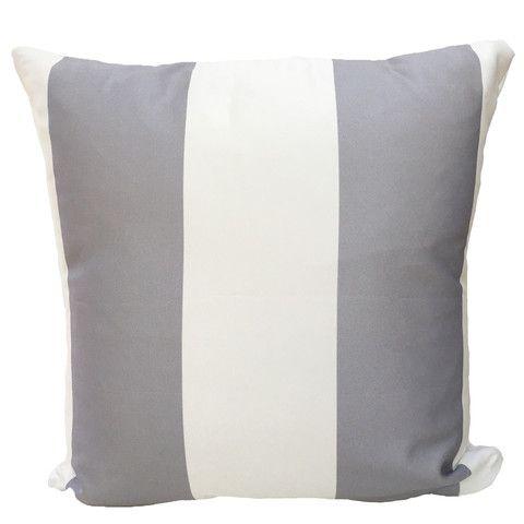 Grey and White Color Block Throw Pillows #throwpillow #colorblock #pillows #homedecor #grayandwhite