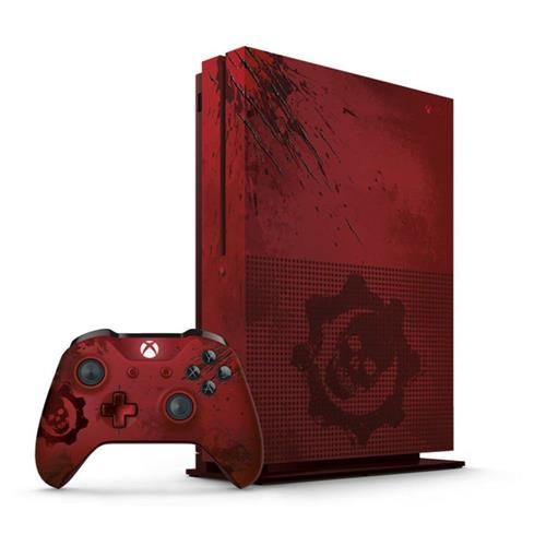 Console Xbox One S 2 Tera 2tb Edicao Exclusiva Gears Of War Controle One S Jogo Consoles Xbox One No Casasbahia Co Xbox One Gears Of War Console Xbox One