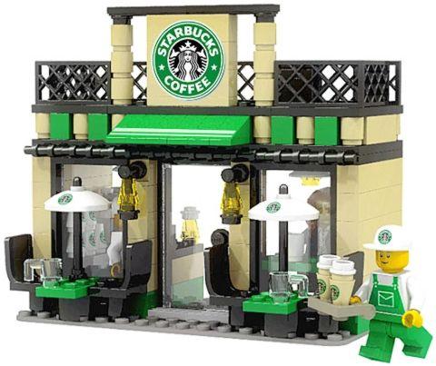 LEGO City Starbucks by Pekko